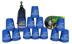 Sport Stacking with Speed Stacks Cups - Cool Blue (Cup Stacking) $18.99
