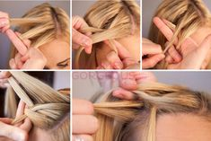 Waterfall Braid Tutorial Step by Step - Learn how to do waterfall braid on your own hair with this easy to follow video tutorial!