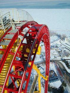 Been on it..many times  :)...love the winter shot of top thrill!