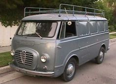 "1957 Alfa Romeo ""2″ Service Van"