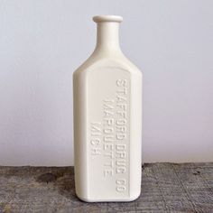 Porcelain Pharmacy Bottle now featured on Fab.