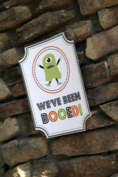 boo flyer printable