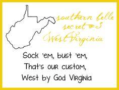 "West ""by God"" Virginia"