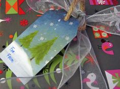 HOW TO: Make Next Year's Gift Tags Today | Inhabitots