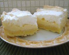Lemon blossom slice - lunchbox recipe - afternoon or morning tea