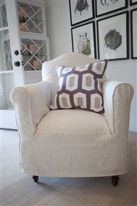 Slipcover petit chair