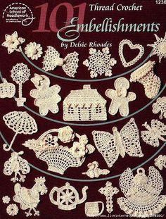 Thread Crochet Embellishments
