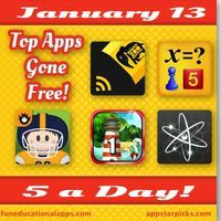 Some great free app to start week! For today's 5 a day you will find an outstanding art and creative app - Night Zookeeper Teleporting Torch...