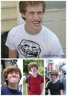 Troll face face collage perfect troll