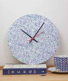 Handmade clock using