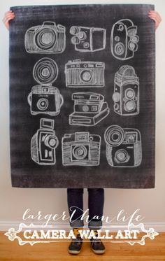 $5 printable of Cameras by Fifth