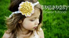 Sunburst Flower Tutorial