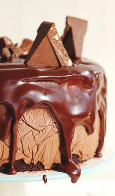 Toblerone Ice Cream Cake!