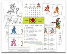 FREE BOB Book Printables: Set 4, Books 7 and 8   This Reading Mama