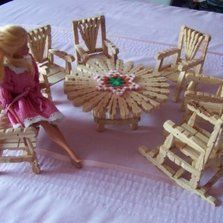 This is a guide about making doll furniture from clothes pins. Clothes pins can be used to make really cute doll furniture. If you don't have some to recycle they can be purchased at many hobby and craft stores.