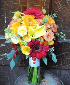 Finding The Perfect Country Wedding Bouquet