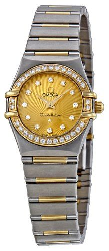 TOPSELLER! Omega Women`s 111.25.23.60.58.001 Constellation Champagne Dial Watch $4,066.81