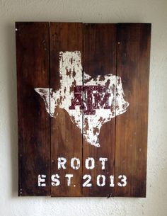 Made to Order 22.5x30 Wedding State/Country/University Wood Sign (aTm)