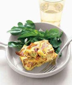 food recipes, frittata recip, scallion frittata, egg, italian foods
