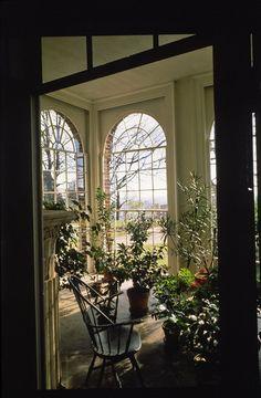 Sun Room, Thomas Jefferson's Monticello, National Historic Landmark, Charlottesville, Virginia
