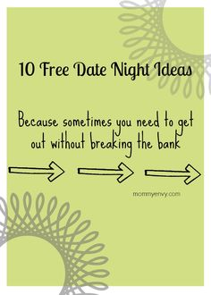 Free Date Night Ideas - Mommy Envy