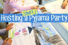 Childhood 101 | Project Cool Mum: Hosting a Simple Pyjama Party