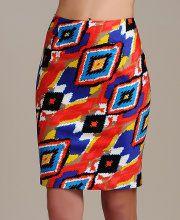 Gracia Tube Pencil Skirt