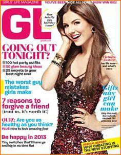 Victoria Justice Girls Life Magazine Cover December 2012