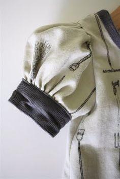 TUTORIAL: Puffed Sleeves | from danaMADEit blog - grelt diy sewing ideas