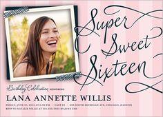 Striped Sixteen Sweet Sixteen