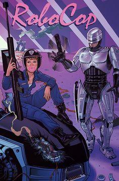 RoboCop - Drawn by Joe Quinones,