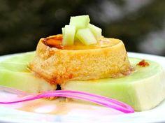 Para acabar la semana una receta de Flan de Melón, que hará las delicias de todos tus comensales, en especial, a los más pequeños.