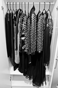 spike, fashion, rock chic, closets, stud, leather jackets, black, heavens, style tips
