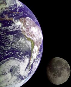 Mother Earth & Her Moon
