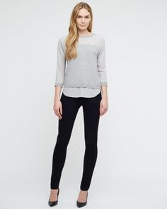 Shirt Tail Sweater