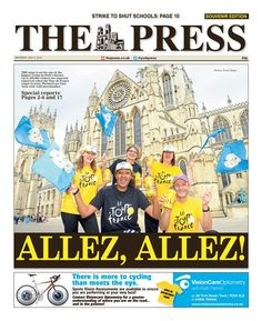 Tour de France Grand Depart - york Press