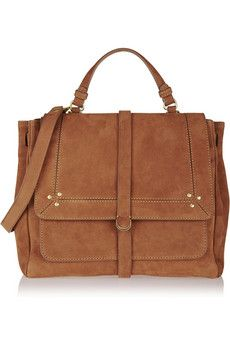 Jérôme Dreyfuss Edouard brushed-leather tote | NET-A-PORTER