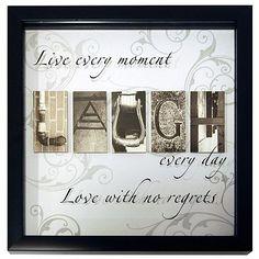 Live, Laugh, Love Wall Decor