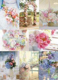 Pastel Wedding Flowers from The Wedding Community