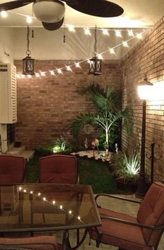 Lovely small patio!