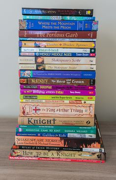 Living books list corresponding to each chapter of SOTW 2 Middle Ages