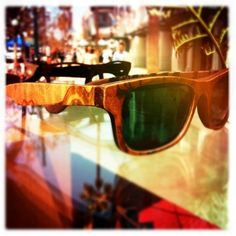 Wood sunglasses by Sire's Crown - olive ash burl wood Hiroki frame #woodglasses #sunglasses
