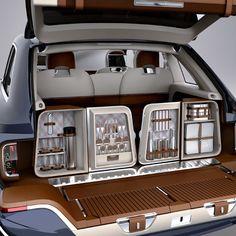 Bentley SUV- Includes a Dining Area