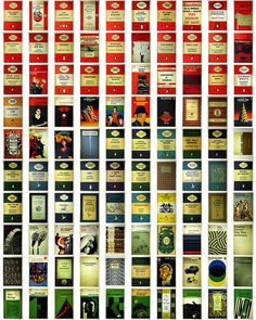 Penguin Book covers.