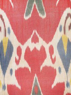 2  yards of Original Ikat Fabric  Amazing Uzbek by samarkand11, $32.00