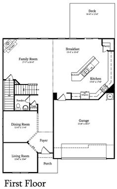 Forsyth model in carolina village pineville nc lennar dream home pinterest - Dream home floor plan model ...