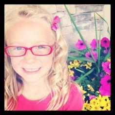 Dixie Optical in St. George, Utah. Adorable glasses! #kids #glasses #red #utah #style
