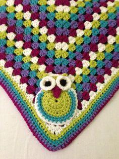 Baby Blanket with Owl Crochet @Linda Bruinenberg Bruinenberg Bruinenberg Bruinenberg Bruinenberg Bruinenberg Bruinenberg Coleman Lundvall