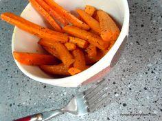 SCD Garlic Carrot Fries (*Use fresh pressed garlic...)