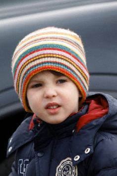 3 years old Prince Carl Henrik son of Prince Joachim and Princess Marie of Denmark
